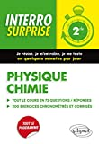 Physique Chimie Seconde