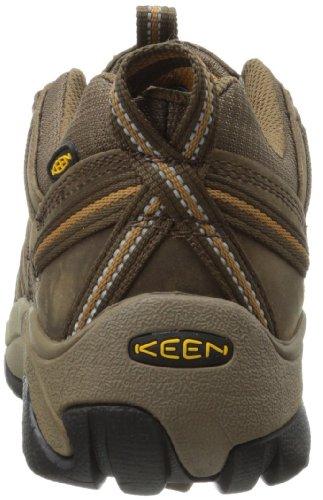 KEEN Men's Voyageur Hiking Shoe, Magnet/Orange Ochre, 13 M US