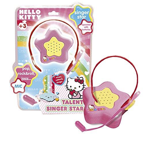 Reig- Hello Kitty Micrófono con amplificación, (REIG1500)