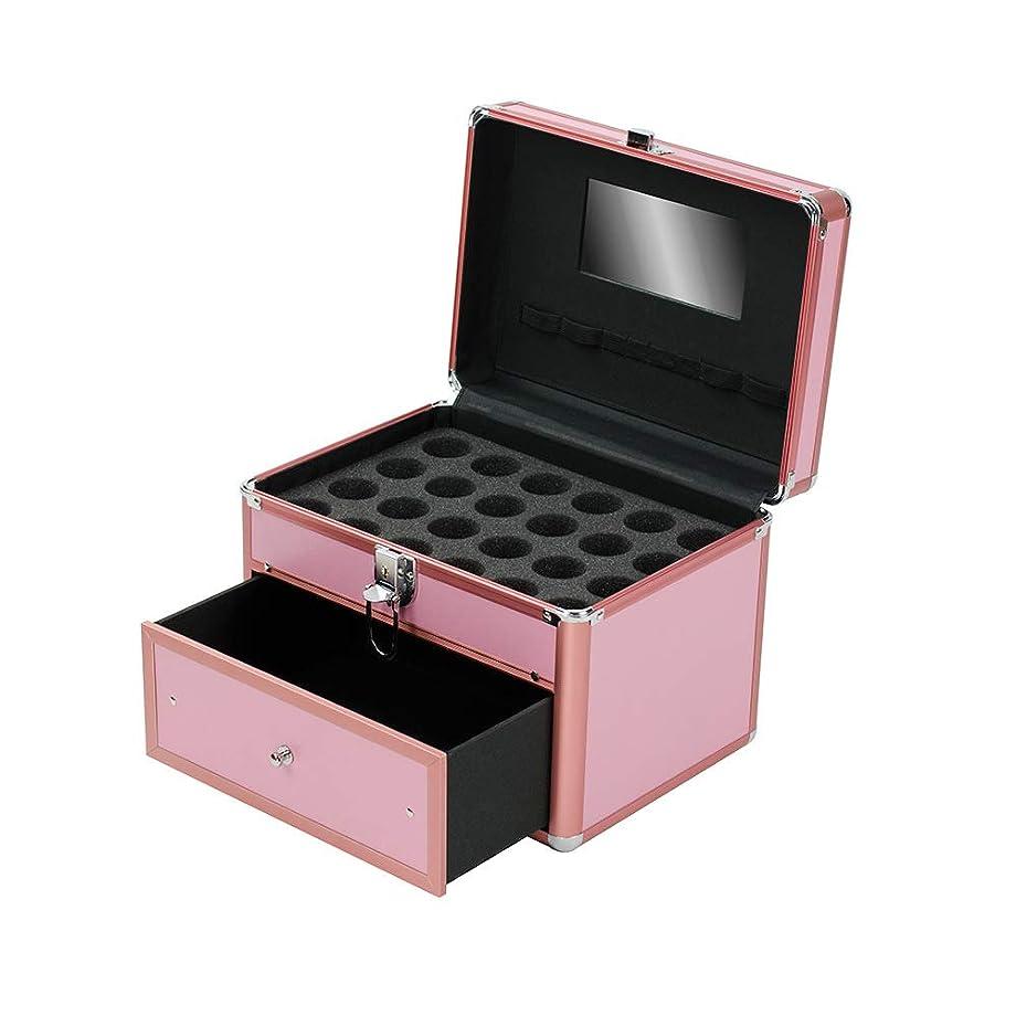 濃度わかりやすい天気特大スペース収納ビューティーボックス 女の子の女性旅行のための新しく、実用的な携帯用化粧箱およびロックおよび皿が付いている毎日の貯蔵 化粧品化粧台