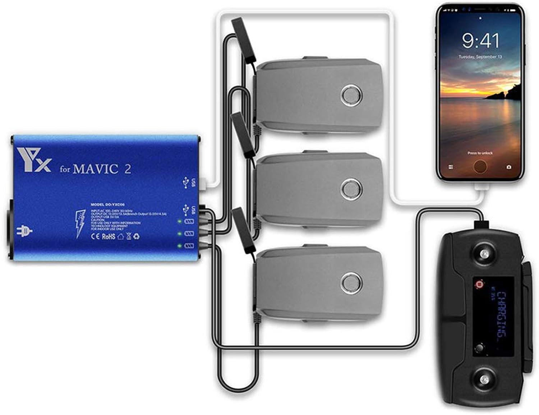 hasta un 60% de descuento Cochegadores de bateria UAV Mavic2 de 5 5 5 Pulgadas para dji Mavic 2 Puede Cochegar 3 baterías al Mismo Tiempo  compra limitada