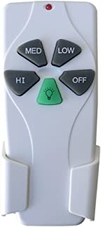 Ceiling Fan Remote Control Replace of Original 53T Harbor Breeze Remote Control for Hunter KUJCE9103 FAN-11T FAN-53T 2AAZPFAN-53T(Just Remote Control)