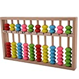 Happy Will Chinese Abacus Arithmetic Soroban Kid's Calculating Tool for Mental Abacus Calculation