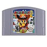 Game Cartridge for Nintendo N64 Mario Kart 64 Video Card US Version .