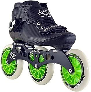 ATOM Pro Outdoor Inline Speed Skate 3 Wheel Package Matrix Wheels - 11.25 3x110 Frame - Size 6