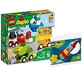 Collectix Lego Set - DUPLO Meine ersten Fahrzeuge 10886 + DUPLO Meine erste Weltraumrakete 30322