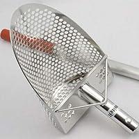 pala professionale con manico inox sand scoop s200 metal detector cercametalli