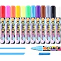Aottom Liquid Chalk 12 Colors Markers