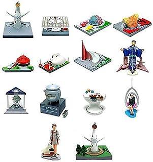 タイムスリップグリコ 大阪万博編 シークレット含む 全14種 セット 海洋堂 グリコ 太陽の塔 1970年 昭和45年
