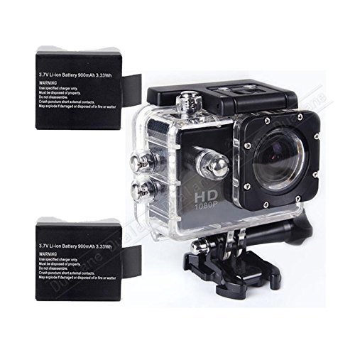 Black Sj4000 12mp 1080p Car Cam Sports Dv Action Waterproof 30m 1.5 Inch Camera