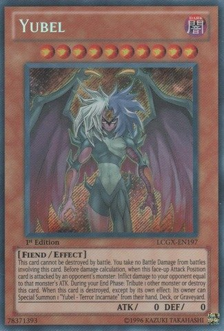 Yu-Gi-Oh! - Yubel (LCGX-EN197) - Legendary Collection 2 - 1st Edition - Secret Rare by Yu-Gi-Oh!