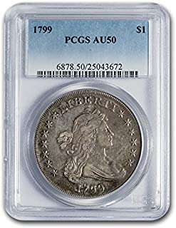 1799 draped bust silver dollar