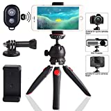 Regetek Camera Tripod with Wireless Remote, Phone...