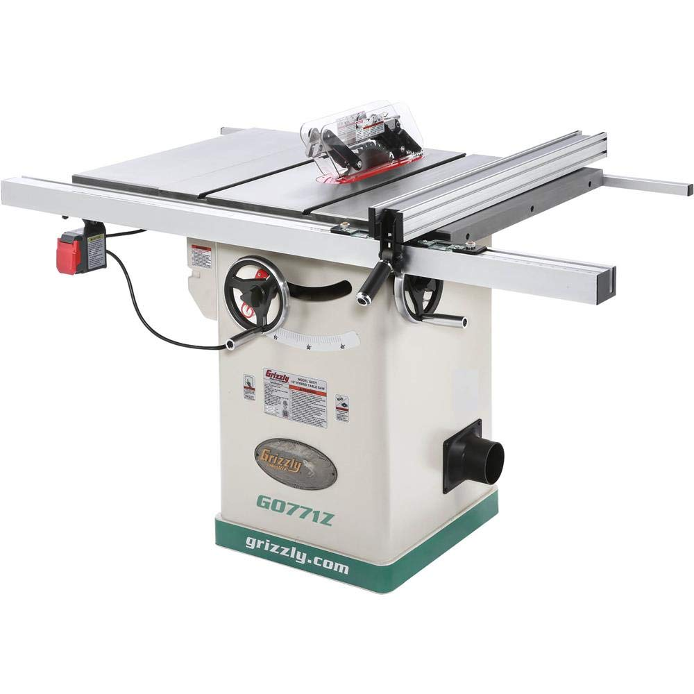 Grizzly Industrial G0771Z  2 HP 120V Hybrid Table Saw