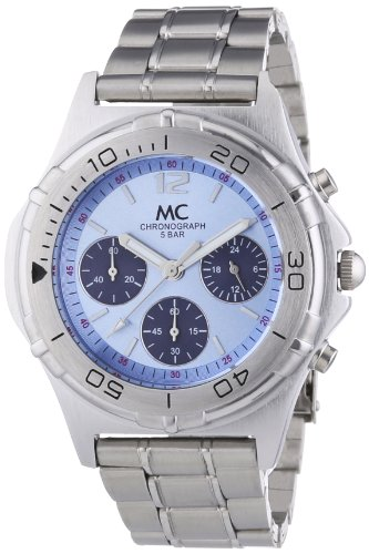 MC Timetrend - Orologio da polso, cronografo al quarzo, ottone, Uomo