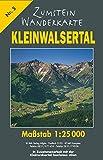 Zumstein Wanderkarte Kleinwalsertal: Maßstab 1 : 25 000 (Zumstein Wanderkarten)
