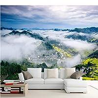 写真の壁紙3D立体空間カスタム大規模な壁紙の壁紙 自然の風景の壁の装飾リビングルームの寝室の壁紙の壁の壁画の壁紙テレビのソファの背景家の装飾壁画-450X300cm(177 x 118インチ)