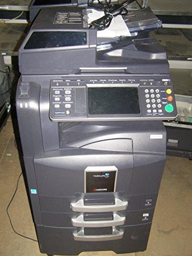 Kyocera TASKalfa 520i A3 s/w Laser Multifunktions Drucker/Scanner/Kopierer/Fax inkl. Unterbauschrank