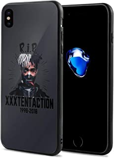 RIP Xxxtentacion Iphone X/Iphone XS用 携帯ケース 耐衝撃 保護ケース 創意デザイン軽量 傷つけ防止 装置やすい 脱着やすい 男女兼用 アイフォンケース