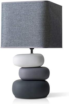 SENWEI Bedside Table Lamp Bedroom Bedside Lamp, Living Room Ceramic Table Lamp, Personal Eye Protection Table Lamp Desk Lamp