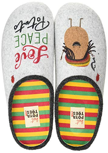 HOT POTATOES Vodice, Pantuflas Hombre, Color, 44 EU