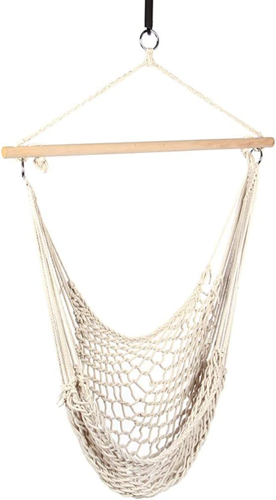 zxb-shop Camping Hammock Super Special SALE held Mesh Swing Hanging Product Rope Cotton Ou Chair