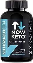 NOW KETO Keto Electrolytes Replacement Tablets for Hydration Magnesium Potassium Sodium Calcium Vitamin D Vitamin B Keto Diet Friendly 90 Vegetarian Capsules 90 00 Count Estimated Price : £ 34,99