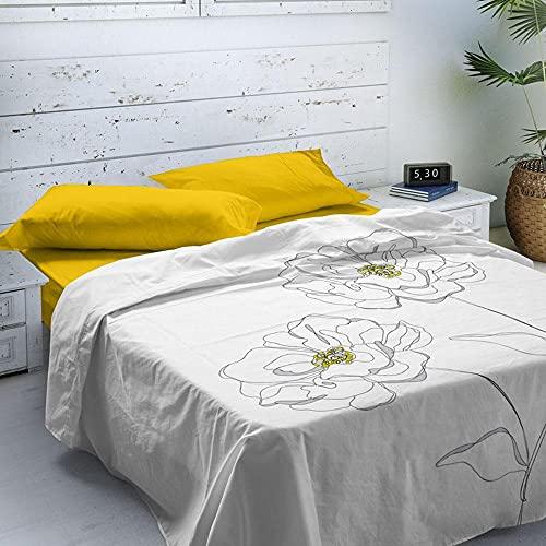 NATURALS Juego de sábanas Altea Cama 150