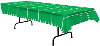 Game Day Football Tablecover 54in. X 108in. Pkg/3