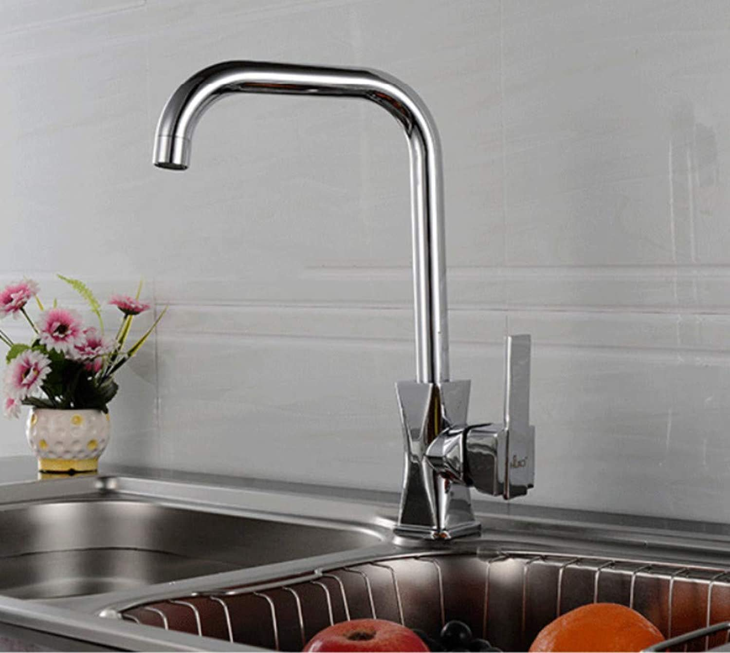 redOOY Taps Faucet Hot And Cold Water Faucet Kitchen Sink Faucet 7 Word Water