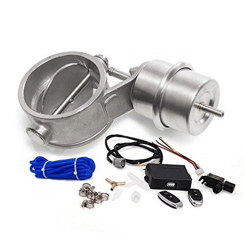 """epman tk-cut63-op-boost-bz Válvula de control de escape con Boost actuador recorte 2,5""""63mm tubo opend con mando a distancia inalámbrico"""