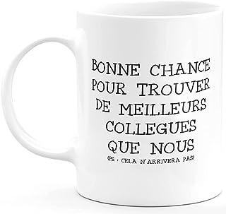 quotedazur Cadeau Collègue De Travail - Cadeau Départ Homme, Femme, Chef, Stagiaire, Départ Retraite, Merci, Remerciement...