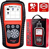 Autel AutoLink AL619 OBD2 Scanner, ABS, SRS Airbag Scan Tool, Turn Off ABS, Airbag Warning Lights, Ready Test, Advanced Ver. of AL519, ML519