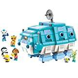 for Age 6+ Building Block Octonauts GUP-I Water Bear Vehicle & Barnacles Kwazii Shellington Tweak Dashi Peso 766pcs Building Brick Set-Without Original Box