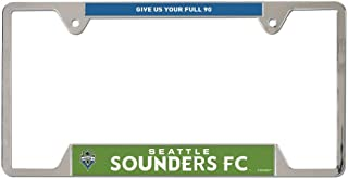 Wincraft Soccer Metal License Plate Frame