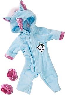 Muñecas American Girl Unicornio Mono Establece Creativo Del Caballo Del Patrón Ropa De La Muñeca Con Los Zapatos De Las Mu...
