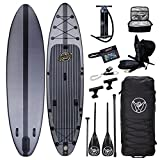 South Bay Board Co. - 11'6 Hippocamp Inflatable Stand Up Paddle Board - Premium ISUP All-in-One...
