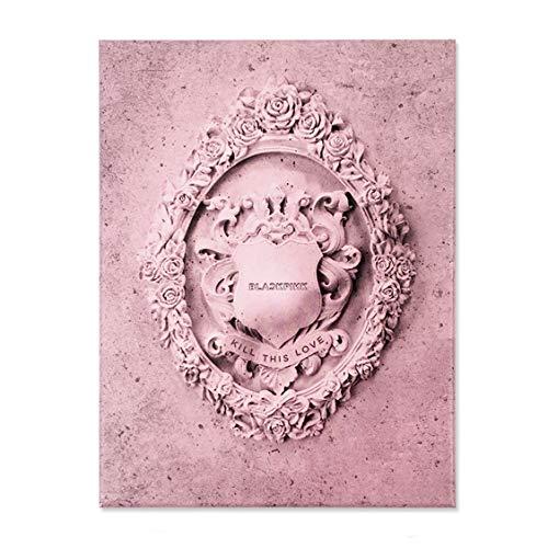 BLACKPINK 2nd Mini Album - Kill This Love [ PINK Ver. ] CD + Photobook + Photo Zine +...