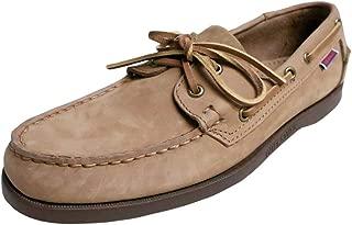 Mens Portland Nubuck Wax Docksides Boat Shoes