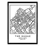 Nacnic Drucken Stadt anzeigen Das HAAG skandinavischen Stil