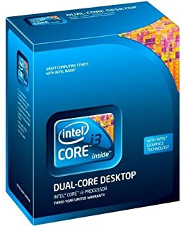 Intel Core i3-550 - Procesador (Intel® Core™ i3, 3,2 GHz, LGA 1156 (Socket H), PC, 32 NM, i3-550)