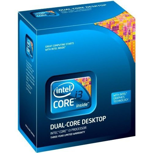 Intel BX80616I3550 Core i3 550 Prozessor LGA1156 Socket 4MB L3-Cache 3,2 GHz Box