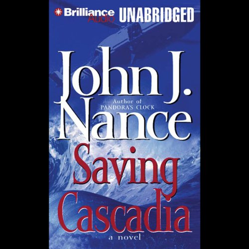 Saving Cascadia audiobook cover art