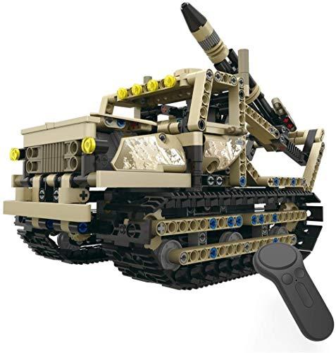 Modelo de juguete Juguete 2.4G de Radio Control, 1: 28 Modelo de Escala, 606 Pcs Camiones Juguetes de Bricolaje Juguete montado eléctrico, Puzzle niños pequeños Juguetes