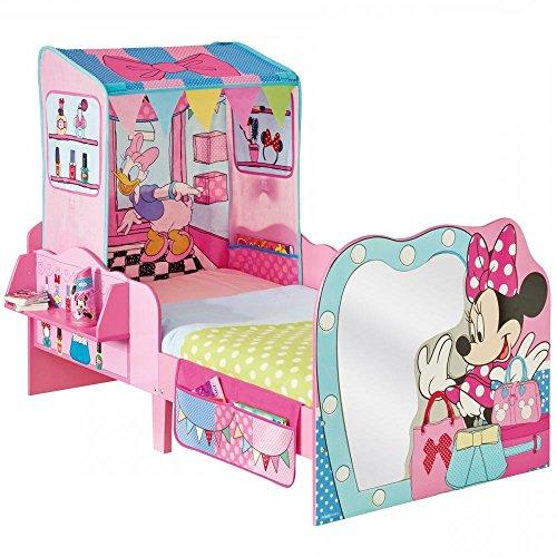 Worlds Apart 865131 Moderne Lit pour Enfants Disney Minnie Bois MDF Rose 145 x 77 x 59 cm