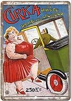 Cirka De Dikste Circus ティンサイン ポスター ン サイン プレート ブリキ看板 ホーム バーために