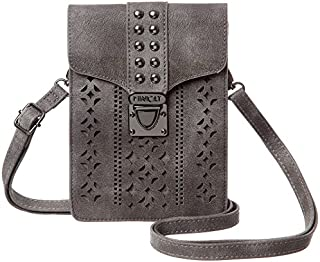 MINICAT Women RFID Blocking Small Crossbody Bags Cell Phone Purse Wallet With Credit Card Slots