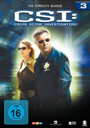 CSI: Crime Scene Investigation - Season 3 [6 DVDs]