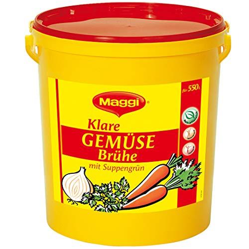 Maggi Klare Gemüsebrühe, vegan, 1er Pack (1 x 11kg Eimer)