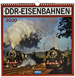 Technikkalender 'DDR-Eisenbahn' 2020: 30 x 30 cm, mit Bildern und Texten von Jan & Patrick Welkerling